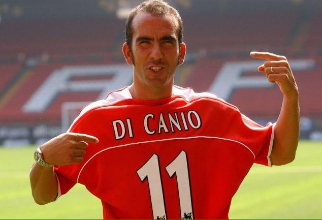 Di Canio con la maglia del Charlton - Foto by CAFC Facts & Stats - Twitter