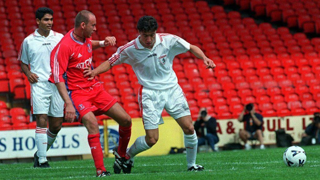 Il Crystal Palace nella Coppa Intertoto 1998