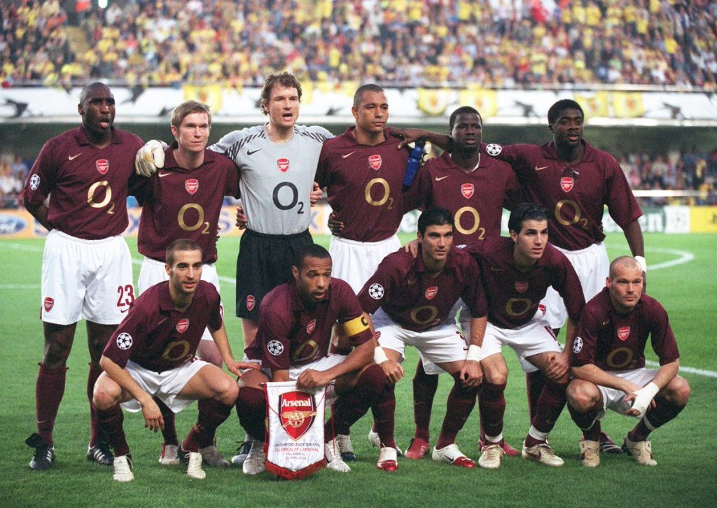 Villarreal - Arsenal 2006 - foto by David Price - Twitter
