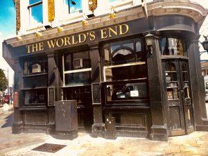 The Word's End Pub, 174 Camden High St, London NW1 0NE - Photo by Il Calcio a Londra