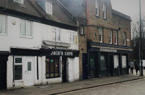 Jack Cafè, Park Lane (Tottenham) - Photo by Il Calcio a Londra