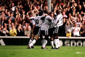 Fulham, stagione 2000-20021 nell'anno della promozione in Premier League - Photo by Fulham Fc