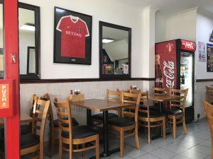 The Valley Cafe (Charlton) - Photo by Il Calcio a Londra