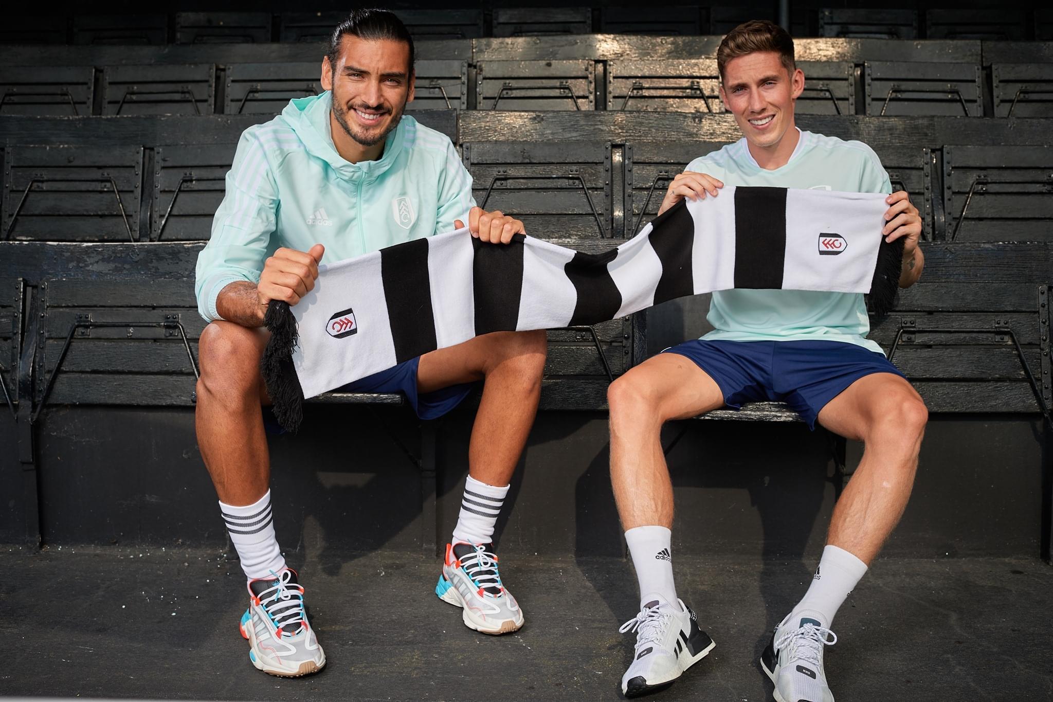 Harry Wilson e Paul Gazzaniga iniziano la nuova avventura con il Fulham - Photo by Fulham official Facebook