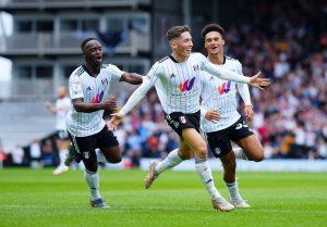 Rete del momentaneo vantaggio di Harry Wilson (Fulham) contro il Middlesbrough nel match dell'8 Agosto 2021 -Photo by official account Twitter Fulham