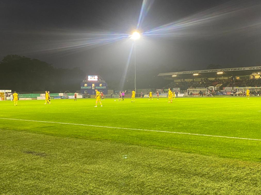 Sutton United - Hartlepool (14 Settembre 21)