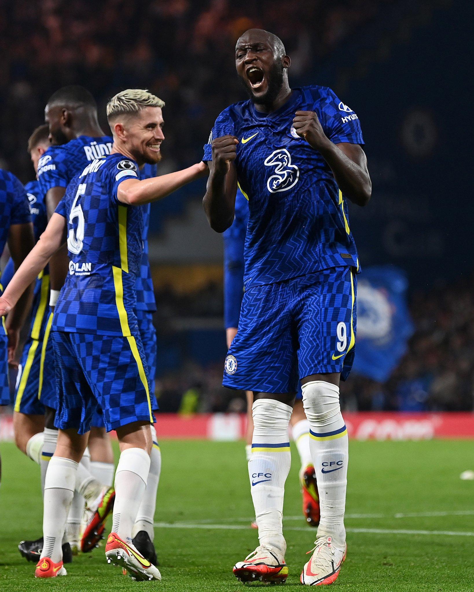 Romelu Lukaku realizza il suo primo gol in Champions League con la maglia del Chelsea - Photo by official Chelsea Twitter